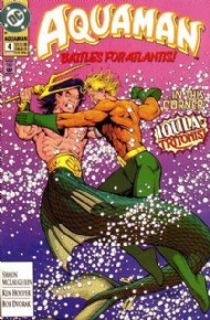 Aquaman (2nd Series) 1991 - 1992 #4