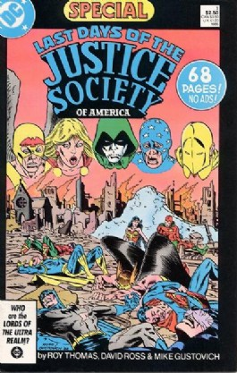 Last Days of the Justice Society of America Special #1
