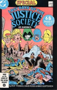 Last Days of the Justice Society of America Special 1986 #1