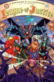 League of Justice 1996 #1