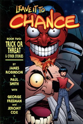 Leave It to Chance: Trick or Threat and Other Stories #2