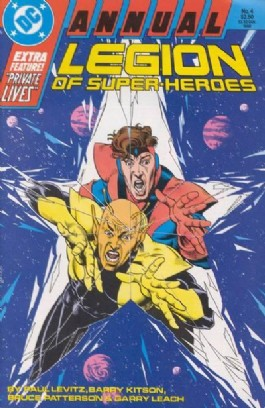 Legion of Super-Heroes (2nd Series) Annual #4