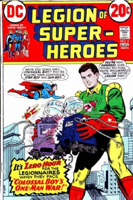 Legion of Super-Heroes (Limited Series) #4