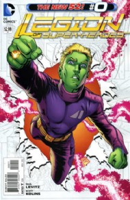 Legion of Super-Heroes (New 52) 2011 - 2013 #0