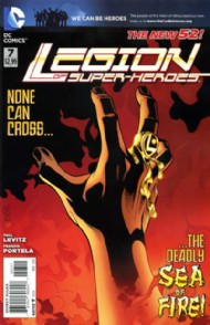Legion of Super-Heroes (New 52) 2011 - 2013 #7