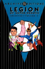 Legion of Super-Heroes Archives 1991 #4
