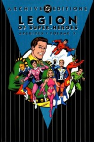 Legion of Super-Heroes Archives 1991 #9