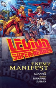 Legion of Super-Heroes: Enemy Manifest 2009