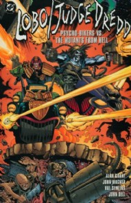 Lobo/Judge Dredd: Psycho Bikers Vs. Mutants From Hell 1996