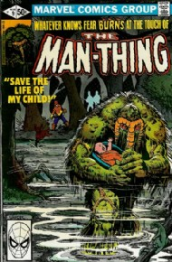 Man-Thing (2nd Series) 1979 - 1980 #9