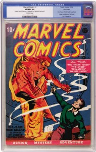 Marvel Comics 1939 #1
