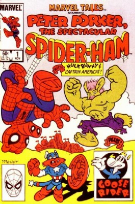 Marvel Tails Starring Peter Porker the Spectacular Spider-Ham #1