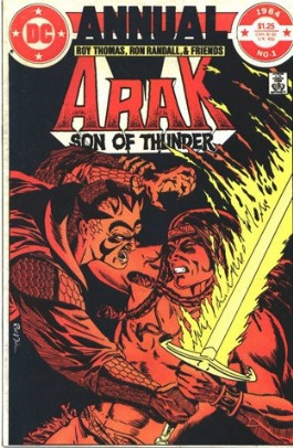 Arak, Son of Thunder Annual #1
