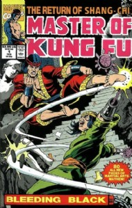 Master of Kung Fu: Bleeding Black 1990 #1