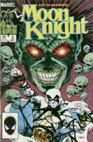 Moon Knight, Fist of Khonshu (2nd Series) 1985 #3