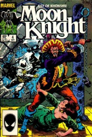 Moon Knight, Fist of Khonshu (2nd Series) 1985 #4