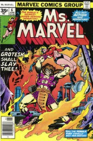 Ms. Marvel (1st Series) 1977 - 1978 #6