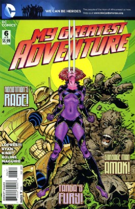 My Greatest Adventure (2nd Series) #6