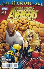 New Avengers (2nd Series) 2010 - 2013 #1