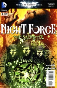 Night Force (Third Series) 2012 #5