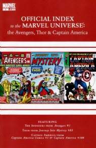 Official Index to the Marvel Universe: the Avengers, Thor and Captain America 2010 - 2011 #1