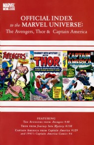 Official Index to the Marvel Universe: the Avengers, Thor and Captain America 2010 - 2011 #2