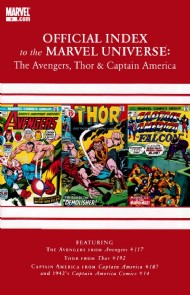 Official Index to the Marvel Universe: the Avengers, Thor and Captain America 2010 - 2011 #4