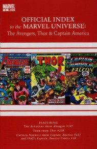 Official Index to the Marvel Universe: the Avengers, Thor and Captain America 2010 - 2011 #5