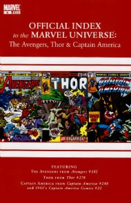 Official Index to the Marvel Universe: the Avengers, Thor and Captain America 2010 - 2011 #6