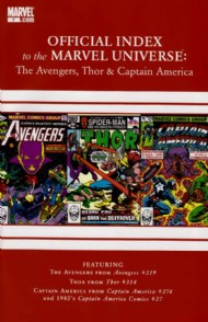 Official Index to the Marvel Universe: the Avengers, Thor and Captain America 2010 - 2011 #7