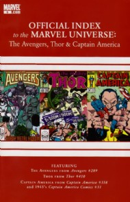 Official Index to the Marvel Universe: the Avengers, Thor and Captain America 2010 - 2011 #9
