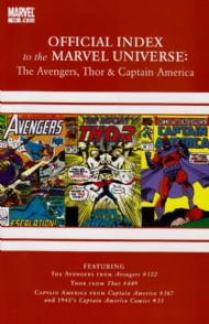 Official Index to the Marvel Universe: the Avengers, Thor and Captain America 2010 - 2011 #10