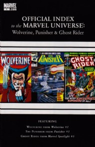 Official Index to the Marvel Universe: Wolverine, Punisher & Ghost Rider 2011 - 2012 #1