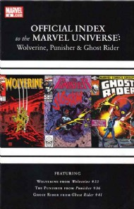 Official Index to the Marvel Universe: Wolverine, Punisher & Ghost Rider 2011 - 2012 #2