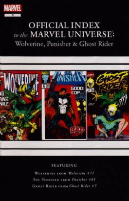 Official Index to the Marvel Universe: Wolverine, Punisher & Ghost Rider #3