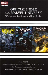 Official Index to the Marvel Universe: Wolverine, Punisher & Ghost Rider 2011 - 2012 #6