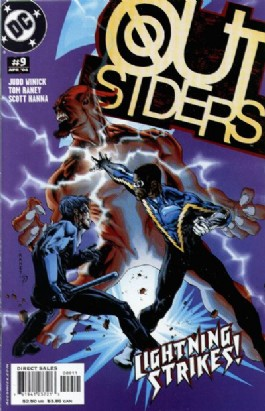 Outsiders (3rd Series) #9