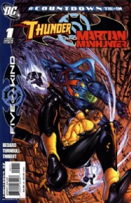 Outsiders: Five of a Kind: Martian Manhunter/Thunder 2007 #3