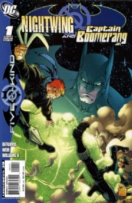 Outsiders: Five of a Kind: Nightwing/Boomerang 2007 #1