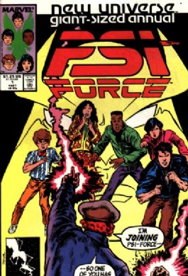Psi-Force Annual #1