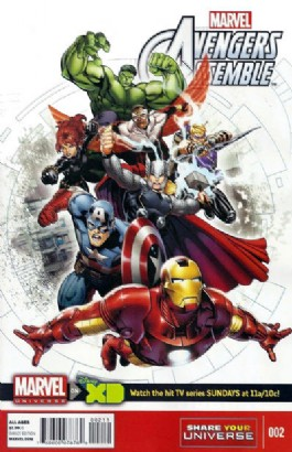 Avengers Assemble (Animated) #2