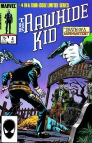 Rawhide Kid (Mini-Series) 1985 #4