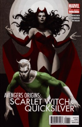 Avengers Origins: the Scarlet Witch & Quicksilver #1