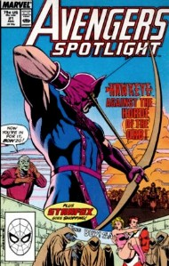 Avengers Spotlight (1st Series) 1989 - 1991 #21