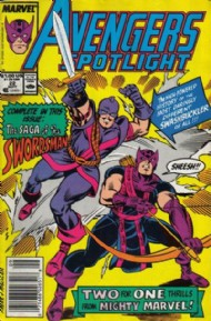 Avengers Spotlight (1st Series) 1989 - 1991 #22