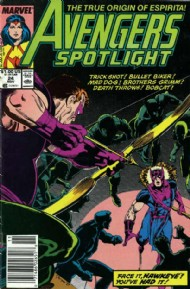 Avengers Spotlight (1st Series) 1989 - 1991 #24