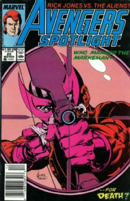 Avengers Spotlight (1st Series) 1989 - 1991 #25
