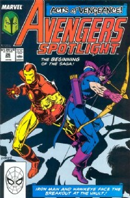 Avengers Spotlight (1st Series) 1989 - 1991 #26
