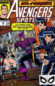 Avengers Spotlight (1st Series) 1989 - 1991 #28