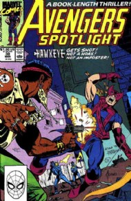 Avengers Spotlight (1st Series) 1989 - 1991 #30